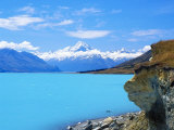 Eastside of Mount Cook  New Zealand