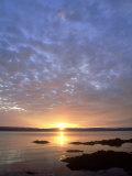 Sunset  Arran  Scotland