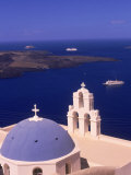 Kimisis Theotokov Church  Santorini  Greece