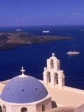 Kimisis Theotokov Church  Santorini  Greece