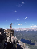 Hiker  Bald Mt  High Uintas  UT