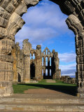 Whitby Abbey  London  England