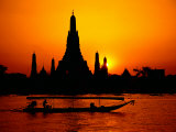 Temple of Dawn in Bangkok  Thailand