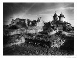 The Ruins of Vlad Dracul's Palace  Tirgoviste  Romania