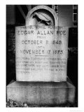 Edgar Allan Poe's Grave  Baltimore  USA