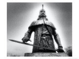 Statue of Vlad Dracul  the Park  Tirgoviste  Romania