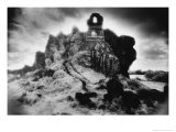 The Hermit&#39;s Chapel  Roche Rock  Bodmin Moor  Cornwall  England