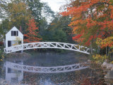 Foot Bridge  Mount Desert Island  Maine