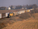 Freight Trains  La Fox  IL