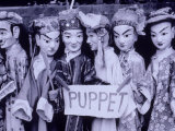 Chinese Puppets  Guangxi  China