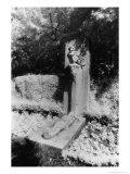 Baudelaire's Tomb  Monparnasse Cemetery  Paris