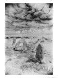 The Men-An-Tol or Holed Stone  Cornwall  England