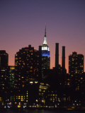Midtown East Skyline at Dusk  NYC