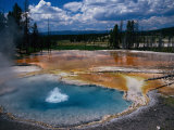 Firehole Spring  Yellowstone National Park  WY
