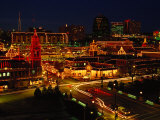 Kansas City Plaza  at Christmas  Missouri