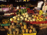 Fruits and Vegetables at Floating Market  Curacao