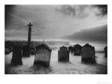 Whitby Graveyard  Yorkshire  England