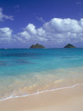 Cloud Filled Sky Over Blue Sea  Lanikai  Oahu  HI