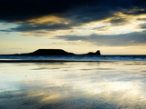 The Worms Head  Gower Peninsula  South Wales