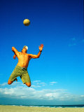 Man Playing Volleyball  FL