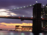 Brooklyn Bridge and South Street Seaport  NYC