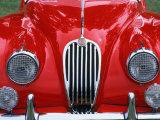 Front Detail of 1955 Jaguar Xk-140