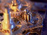 Gold Watch Gears