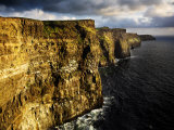 The Cliffs of Moher in Evening Light  Ireland
