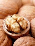 Juglans (Californian Walnut)  Close-up of Group &amp; Open Nut
