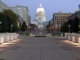 Wisconsin State Capitol Building  Madison  WI