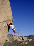 Rock Climbing  Joshua Tree  CA