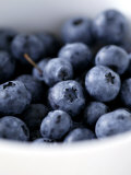 Blueberries  Close-up of Blue Fruits in a Bowl
