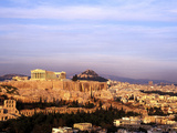 Athens  Greece  View of the City with Acropolis