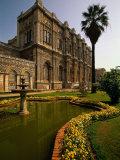 Dolmabahce Palace  the Bosporus  Istanbul  Turkey