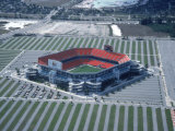 Aerial of Joe Robbie Stadium  Miami  FL