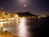 Waikiki Beach and Diamond Head  HI
