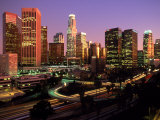 Los Angeles Skyline  California