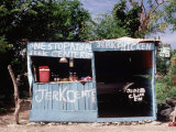 Jerk Chicken Stand  Negril  Jamaica