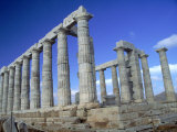 Temple of Poseidon  Cape Sounion  Greece