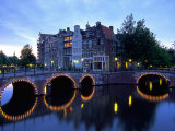 Prinsengracht Canal  Amsterdam  Holland