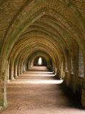 Cistercian Monastery  Fountains Abbey  Eng