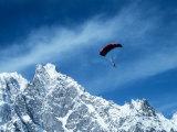Para-Skier  Mt Blanc  Italy  France