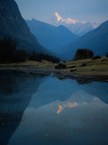 Stream by River  Cordillera Blanca  Peru