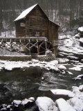 Old Mill  Babcock State Park  West Virginia