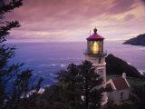 Heceta Head Lighthouse  Oregon Coast