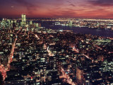 Manhattan South  from Empire State Building  NYC