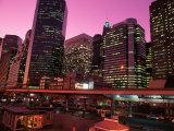 East River Drive at Night  NYC  NY