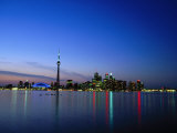 Ontario Skyline  Toronto  Canada