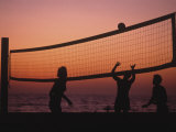 Sunset Beach Volleyball