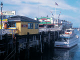 Boats at Fishermans Wharf  CA